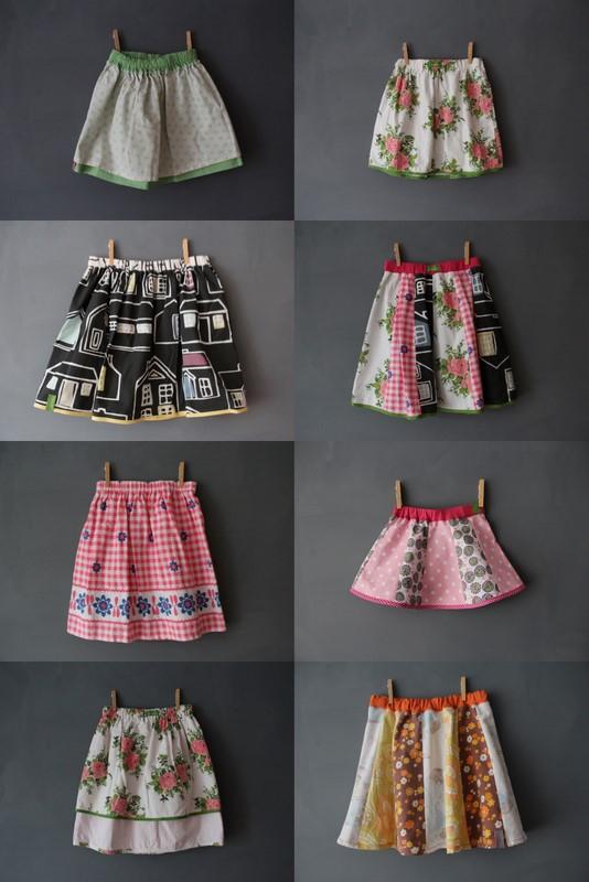 neue Röcke selbst genäht