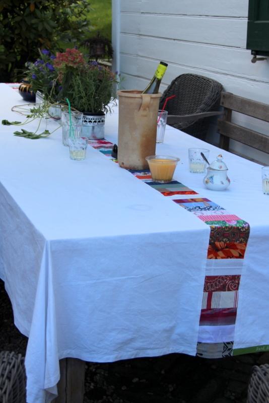 Tischdecke als Hochzeitsgeschenk