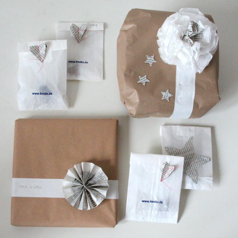 weihnachtsgeschenke verpacken schlicht und einfach. Black Bedroom Furniture Sets. Home Design Ideas