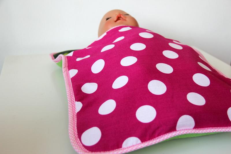 Puppenschlafsack selbst genäht
