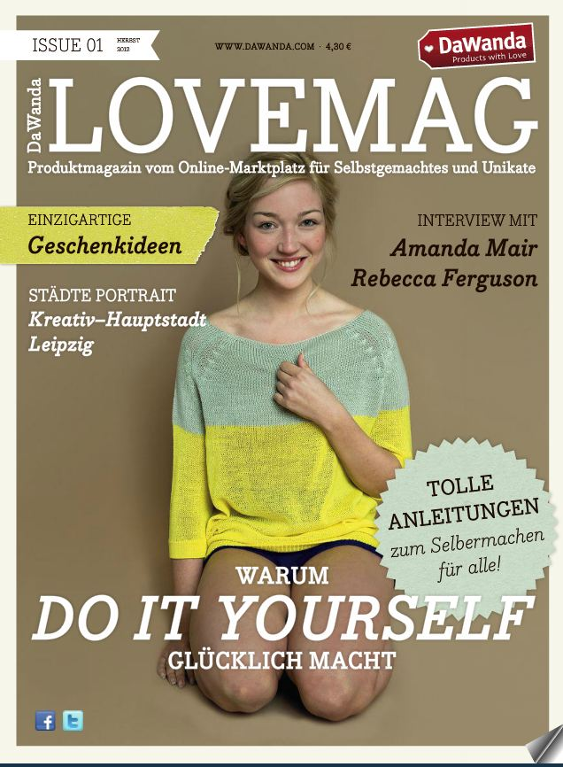 LoveMag DaWanda - issue 01