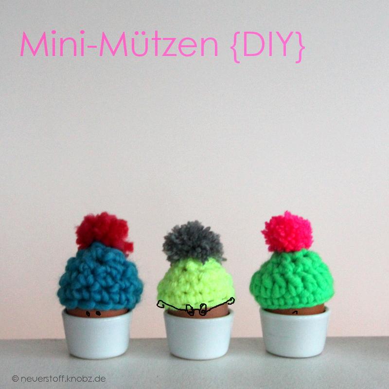 Mini-Mützen häkeln DIY Anleitung