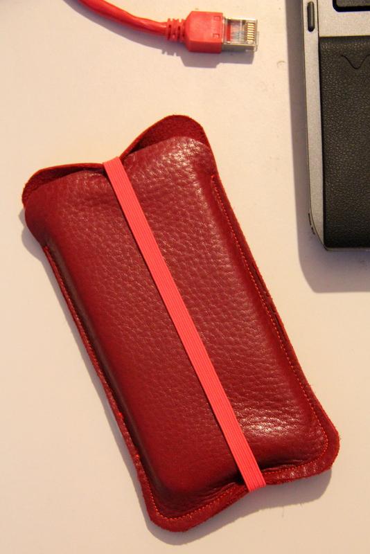 Lederhülle für IPhone 5