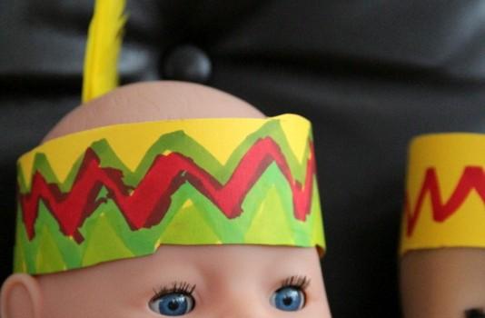 Kostürm für Puppe - Anleitung DIY