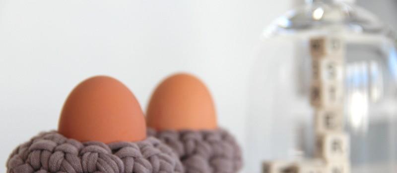 gehäkelte Eierbecher