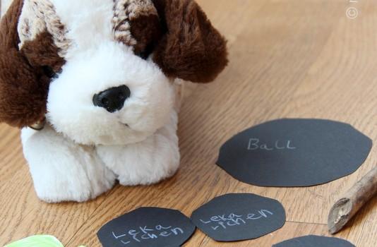 Hundefutter selber machen - basteln mit Kindern