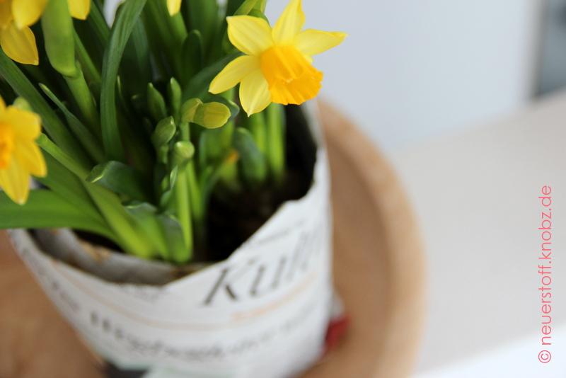Blumentopf selber machen - Bastelanleitung