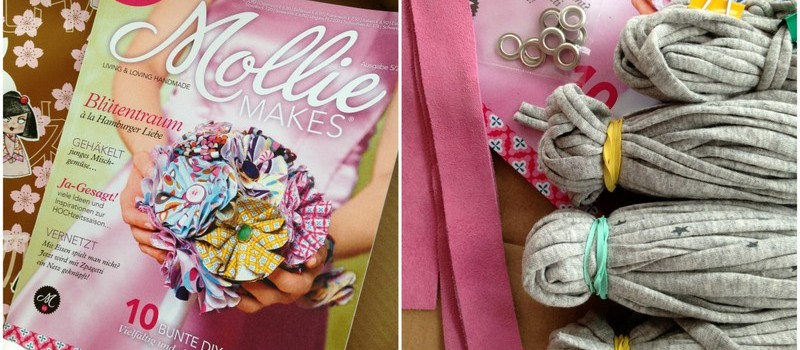 Zeitschrift Mollie Makes, Zpagetti für Einkaufsnetz