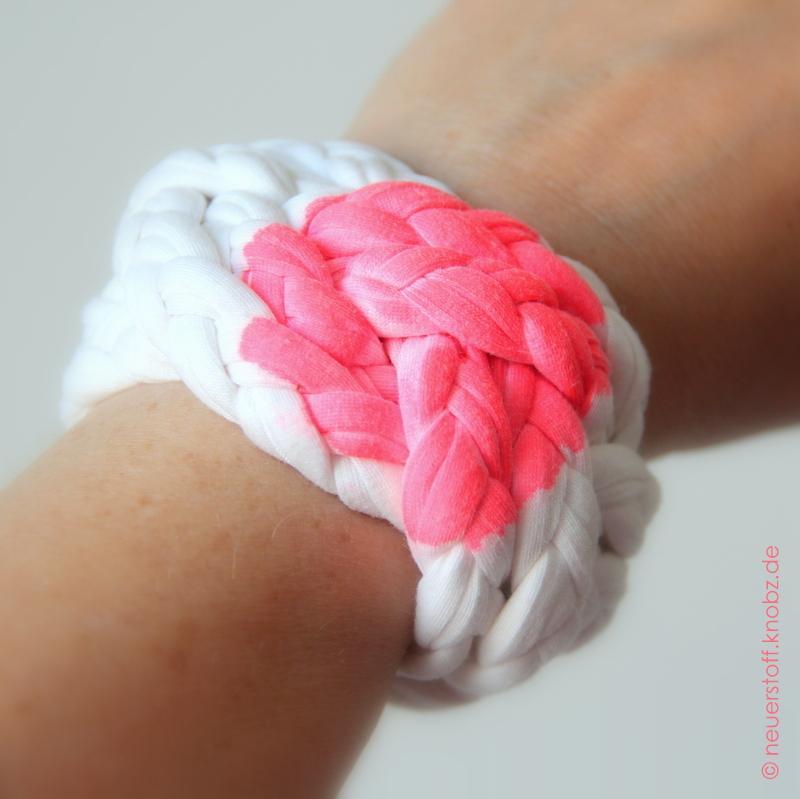Knoten-Armband - geflochten