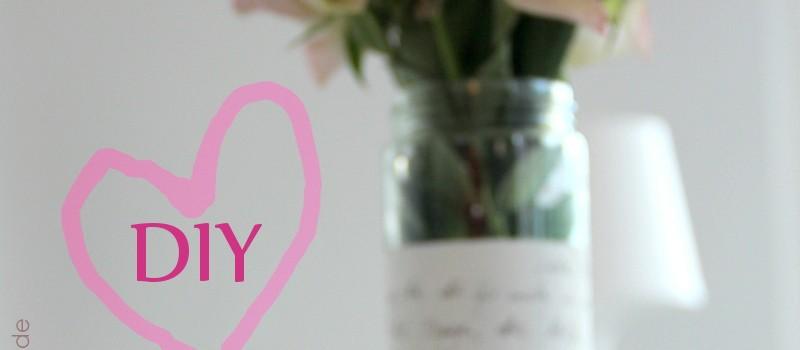 Muttertag - last-minute Geschenk DIY