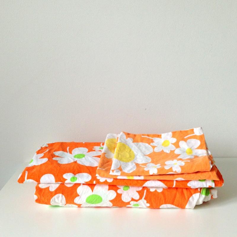 Vintage Blümchen Bettwäsche