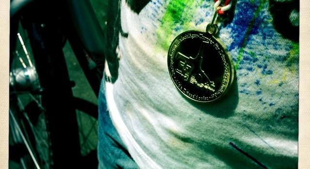 Medaille vor den Sommerferien