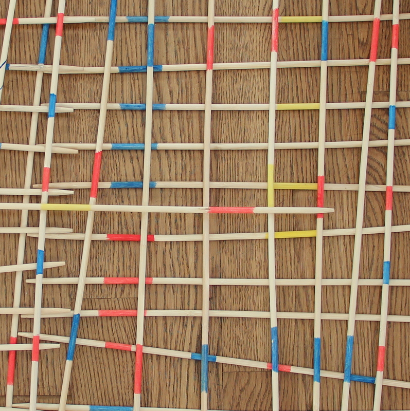 Netzstruktur - Kinderkunst