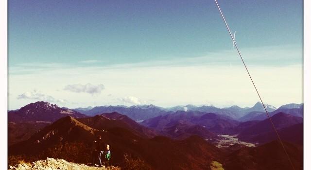 Gipfel am Herzogstand