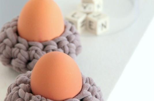 Eierbecher häkeln - Anleitung