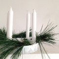 einfache Dekoration für die Weihnachtszeit
