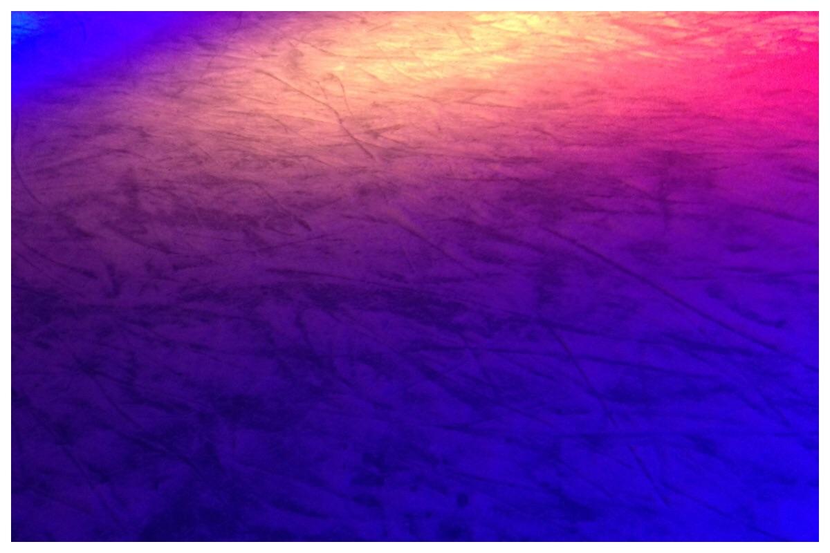 Eislaufen im Dunkeln