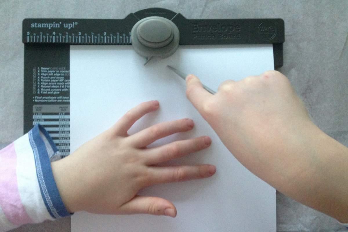 Briefumschläge selber falten- envelope punch board (38)