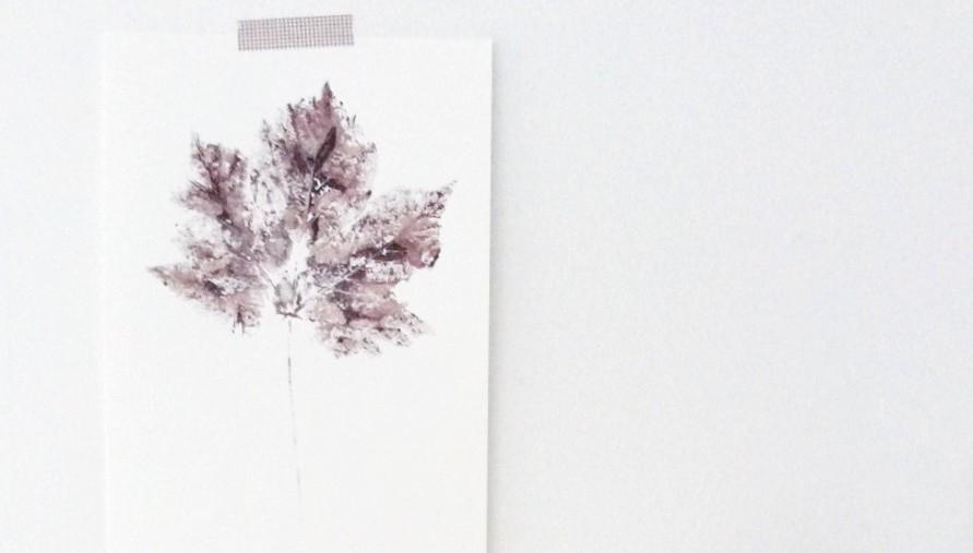 Blätter Drucken Ratzifatzi Herbstdekoration Und Lovtamtam 3